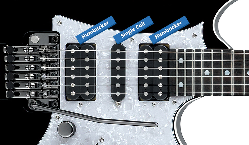 Difference between single coils & humbuckers