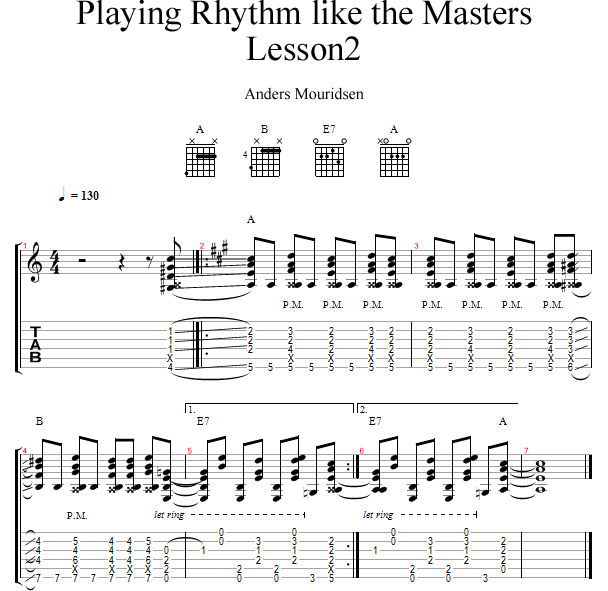 Playing Rhythm Like The Masters: Keith Richards