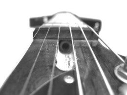 Accessing the truss rod
